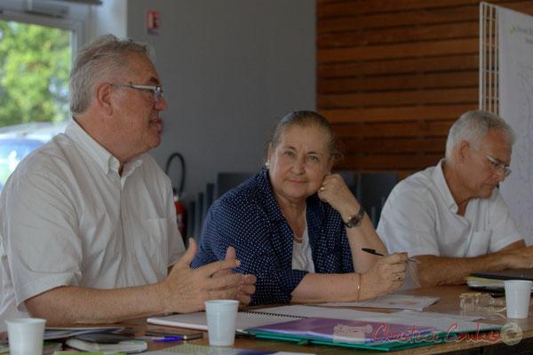 Jean-Marie Darmian, Martine Faure, Gérard Poisbelaud