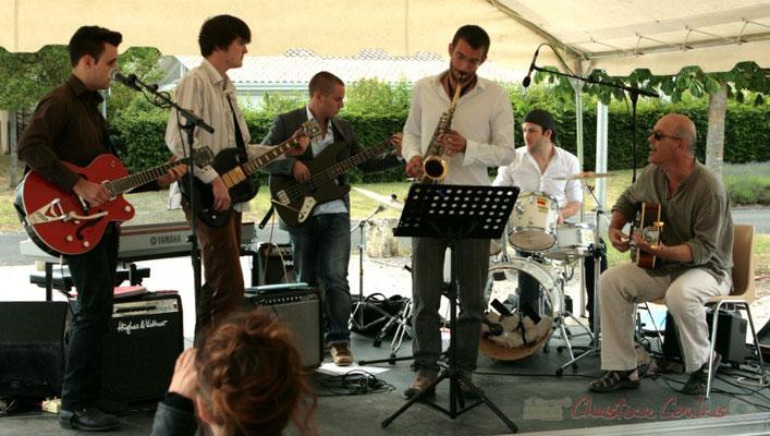 Ateliers Jazz de l'I.R.E.M., Institut Régional d'Expressions Musicales, Festival JAZZ360 2011, Cénac, 04/06/2011