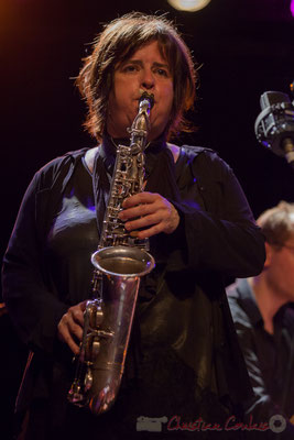 "Géraldine Laurent, Géraldine Laurent ""At work"" Quartet. Festival JAZZ360, Cénac, 11/06/2016"