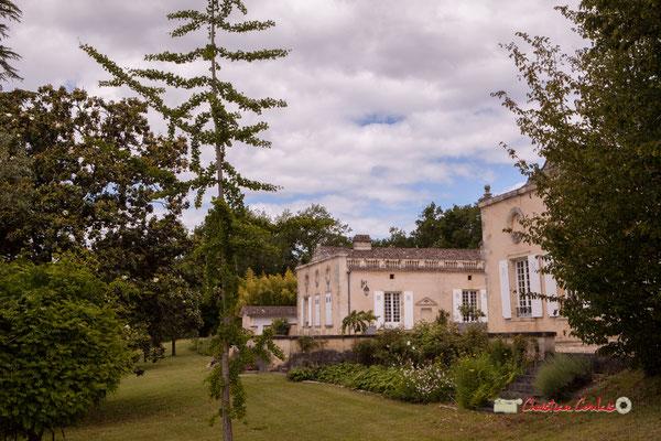 """""""Parc du Château Duplessy"""" Pique-nique vigneron avec Nicolas Saez Quartet, Festival JAZZ360 2019, Cénac, lundi 10 juin 2019"""