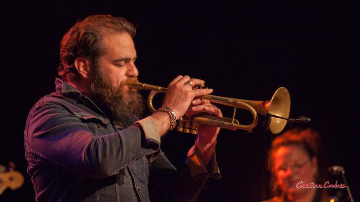 Høst invite Nicolas Gardel. Festival JAZZ360, Cénac. Vendredi 4 juin 2021. Photographie © Christian Coulais