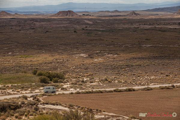 """""""Estafette Renault et zone militaire"""" Parque natural de las Bardenas Reales, Navarra"""