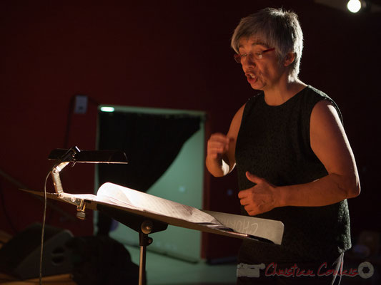 Nathalie Aubin, cheffe de cœur, Les Choraleurs chantent Carmen in Swing. Targon
