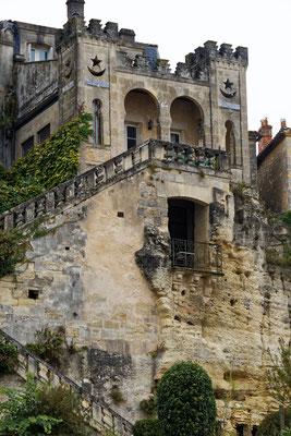 Maison mauresque (XIXe siècle côté Dordogne / XVIIIe côté ville), Bourg-sur-Gironde, samedi 26 septembre 2020. Photographie HDR © Jean-Pierre Couthouis