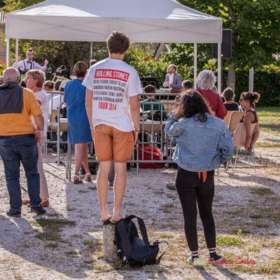 """""""Pourquoi faudrait-il choisir entre le Rock et le Jazz ?"""" Jujubees Swing Combo. Festival JAZZ360, Cénac. 08/06/2019"""