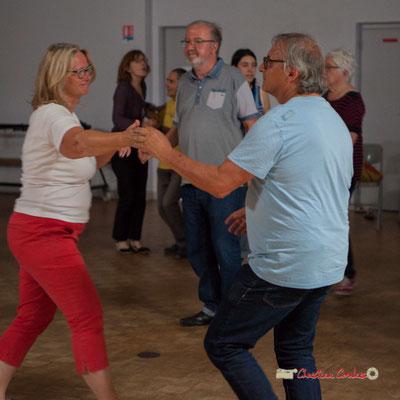 """""""Les bénévoles entrent dans la danse"""" Marie et Richard Raducanu, le Grand Bal du Parti Collectif. Festival JAZZ360 2019, Latresne, 09/06/2019"""