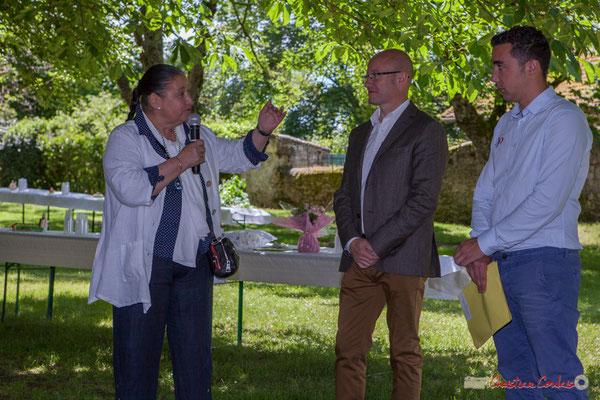 Martine Faure, Jean-Luc Gleyze, Antoine Berger, 14 mai 2017, Blasimon. Tous avec Martine...Faure et Jean-Marie Darmian, dix ans de députation et un jubilé d'engagements politiques