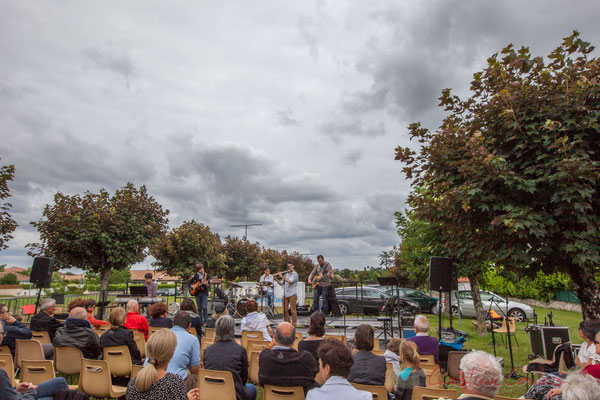 Atelier Jazz du Conservatoire Régional de Bordeaux Jacques Thibaud, Festival JAZZ360 2016, Cénac, 11/06/2016
