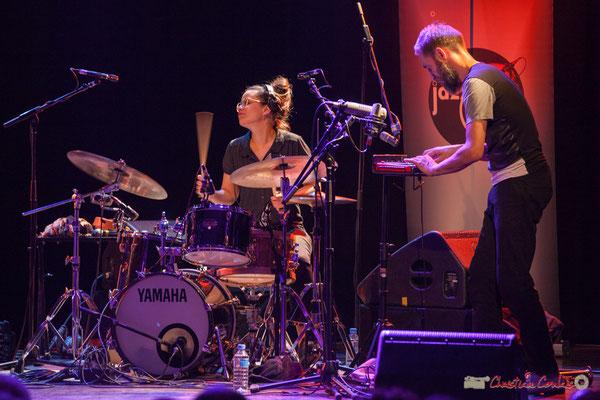 Anne Paceo, Christophe Panzani, Anne Paceo Circles, Festival JAZZ360, Cénac, 10/06/2017