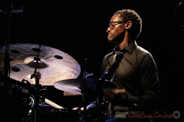 Roger 'Kemp' Biwandu; Roger Biwandu Quintet, Festival JAZZ360 2011, Cénac. 03/06/2011