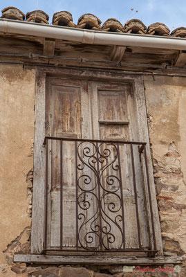 Fenêtre à volets / Ventana con persianas. Liédena, Navarra