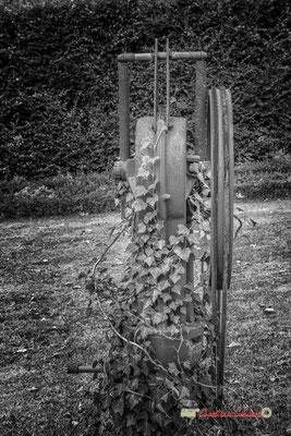 Pompe Montagne, Ets H. Lucas, 167 rue Fondaudège, Bordeaux. Domaine de Malagar. Centre François Mauriac, Saint-Maixant. 28/09/2019 Reproduction interdite - Tous droits réservés © Christian Coulais