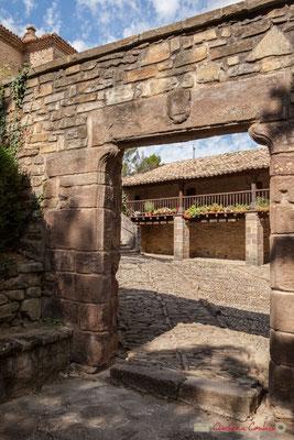 Porche du lieu de naissance de Francisco Jabier, Saint-François Xavier. Javier, Navarra