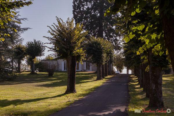 Domaine de Pau de Ciran (Domaine de Paud sur la carte de Belleyme), avenue Pierre Larquey, Cénac, Gironde. 16/10/2017