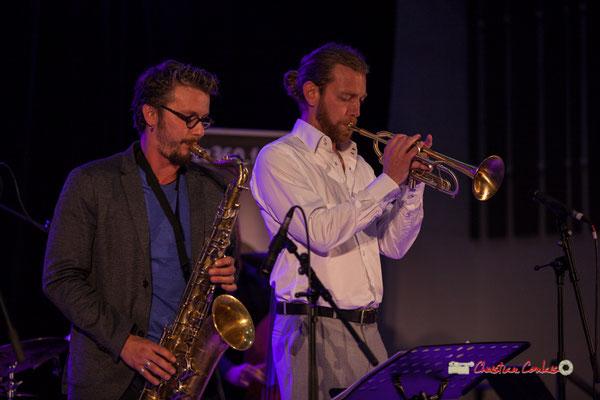 Valentin Foulon, Franck Vogler; Docteur Nietzsche fait son grand huit, Festival JAZZ360 2019, Saint-Caprais-de-Bordeaux. 05/06/2019