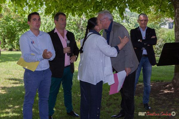 Antoine Berger, Danile Barbe, Martine Faure, Jean-Marie Darmian, Bernard Castagnet