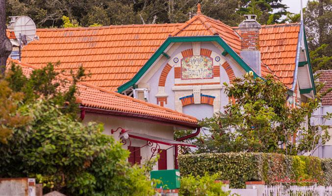 Villa Mar y Selva, Soulac-sur-Mer. Samedi 3 juillet 2021. Photographie © Christian Coulais