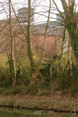 Patrimoine économique ancien, le long du Canal latéral à la Garonne, Damazan