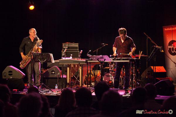 François Corneloup / Franc Tortiller Duo. Festival JAZZ360, Cénac, 10 juin 2017