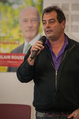 Daniel Barbe, Président des Maires des communes rurales de Gironde, co-listier, Elections régionales, décembre 2015