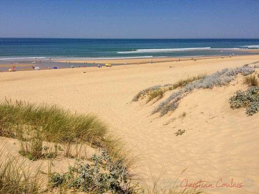 Le Grand Crohot, plage océanique longue de plusieurs kilomètres