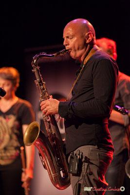 Guillaume Schmidt, saxophone ténor; Clax Quartet. Festival JAZZ360 2018, Cénac. 09/06/2018