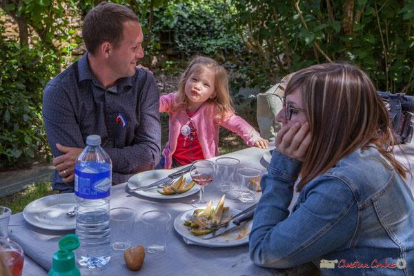 Florian Subra, Adeline Darmian-Subra. Tous avec Martine...Faure et Jean-Marie Darmian, dix ans de députation et un jubilé d'engagements politiques. 14 mai 2017, Blasimon