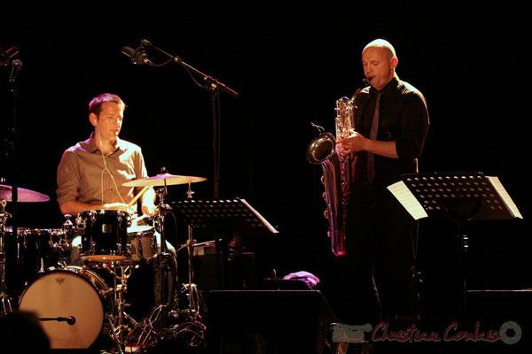 Didier Ottaviani, Guillaume Schmidt; Fédération Française de Baryton (FFB), Festival JAZZ360 2011, Cénac. 05/06/2011