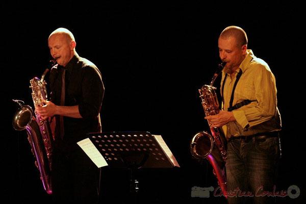 Guillaume Schmidt, Alain Coyral; Fédération Française de Baryton (FFB), Festival JAZZ360, Cénac. 05/06/2011