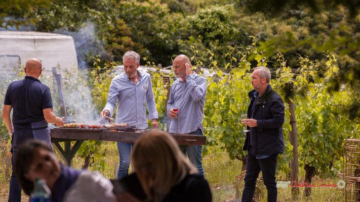 """""""Du bon usage du barbecue"""" Pique-nique vigneron avec Nicolas Saez Quartet, Festival JAZZ360 2019, Château Duplessy, Cénac, lundi 10 juin 2019"""