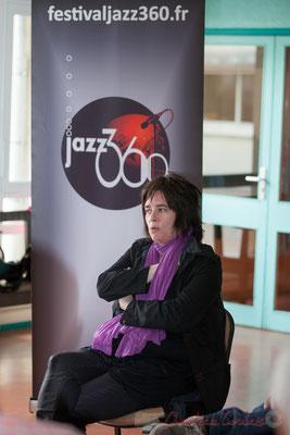 Géraldine Laurent. Festival JAZZ360 2016, groupe scolaire de Cénac, 11/06/2016