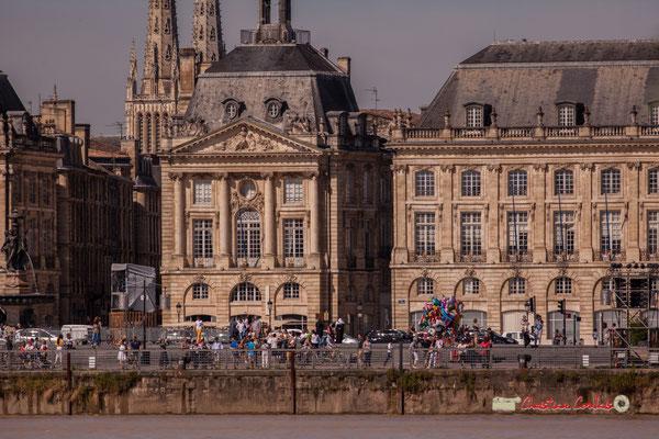 """Bordeaux, ville inscrite sur la liste du patrimoine mondial de l'Unesco. Reconnaissance de la valeur et de l'unité patrimoniale du """"Port de la lune"""". 22/06/2019 Reproduction interdite - Tous droits réservés © Christian Coulais"""