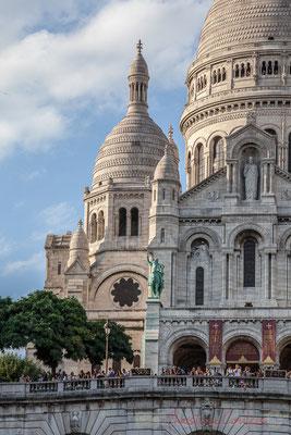 200mm, Square Louise Michel, Basilique du Sacré-Cœur de Montmartre, Paris 18ème arrondissement