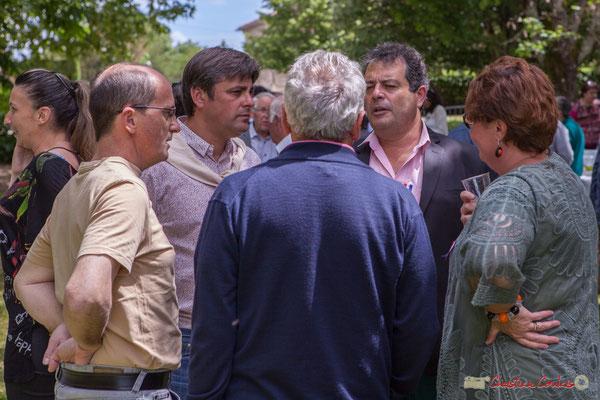 Nicola Tarbes, Daniel Barbes. Tous avec Martine...Faure et Jean-Marie Darmian, dix ans de députation et un jubilé d'engagements politiques. 14 mai 2017, Blasimon
