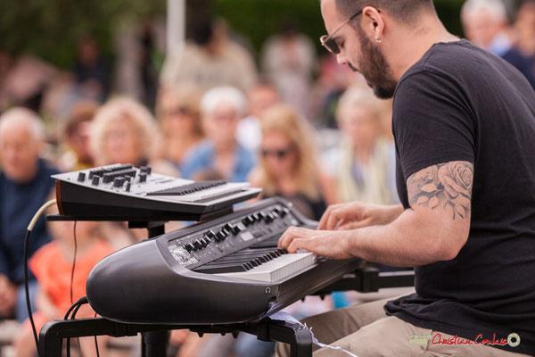 Tony Lavaud; Shob & Friends. Festival JAZZ360 2018, Quinsac. 10/06/2018