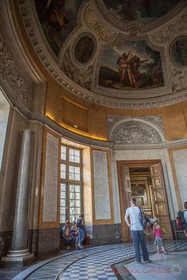 La rotonde d'Apollon, Musée du Louvre