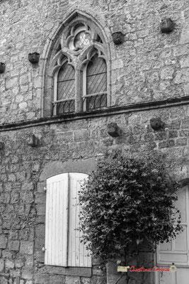 Maison la Roque. Cité médiévale de Saint-Macaire. 28/09/2019. Photographie © Christian Coulais