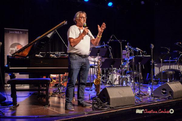 Richard Raducanu, Président de l'Association JAZZ360, organisateur du Festival JAZZ360 2019, Cénac. 07/06/2019