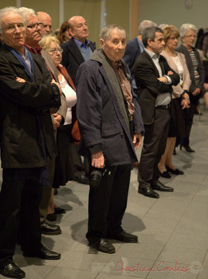 Jean-Marc Constantin, archiviste de la commune de Cénac, ancien élu. Honorariat de Simone Ferrer et Gérard Pointet, anciens Maires de Cénac, vendredi 3 avril 2015