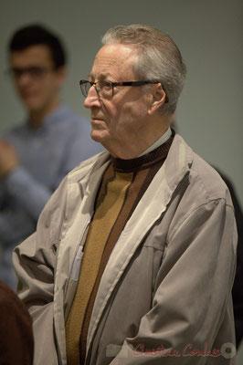 Yves Dubourdieu, ancien Combattant; Honorariat des anciens Maires de Cénac, vendredi 3 avril 2015