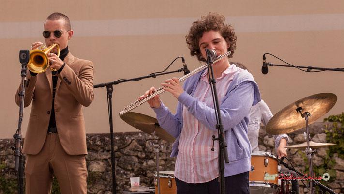 Robin Peret, Céline Hocquelet; Atelier Jazz du Conservatoire Jacques Thibaud, Festival JAZZ360 2019, Quinsac, 09/06/2019