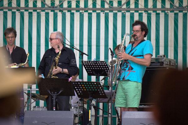 Festival JAZZ360 2014, Thierry Taveaux, Rémy Brown, Grat Martinez; Jazzméléon Trafic. Cénac, 07/06/2014