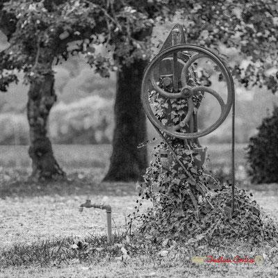 Pompe Mortagne, Ets H. Lucas, verger du Domaine de Malagar. Centre François Mauriac, Saint-Maixant. 28/09/2019 Reproduction interdite - Tous droits réservés © Christian Coulais