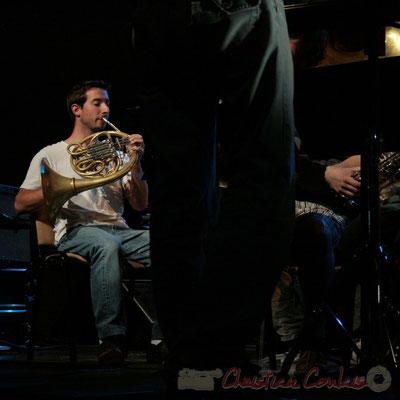 Cor d'harmonie. Big Band du Conservatoire Jacques Thibaud, section Musiques Actuelles Amplifiées-Jazz. Festival JAZZ360 2010, Cénac. 14/05/2010
