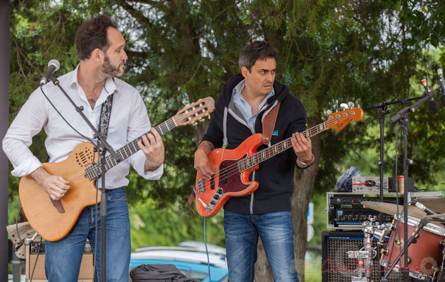 Jean Lassallette, Nicolas Mirande, Taldea Group. Festival JAZZ360 2016, Quinsac, 12/06/2016