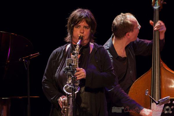 Géraldine Laurent, Yoni Zelnick, Géraldine Laurent Quartet. Festival JAZZ360, Cénac