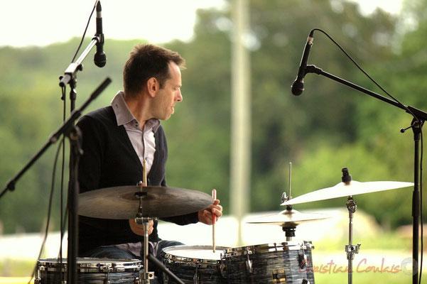 Didier Ottaviani; Alex Golino & David Blenkhorn Quartet, Festival JAZZ360 2012, château Roquebrune, Cénac, samedi 9 juin 2012