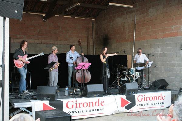 Hans Van Heven, Yann Loustalot, Olivier Gatto, Florinda Piticchio, Iano Anzelmo; Florinda Piticchio & Balarm Quartet, Festival JAZZ360, Cénac. 05/06/2011