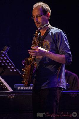 Le Jardin Quartet : Julien Dubois, saxophone. Festival JAZZ360 2016, 10/06/2016