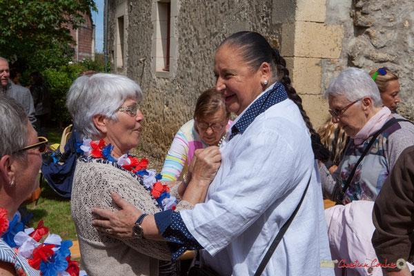 Martine Faure, Vice-présidente du Conseil général (1998-2008). 14 mai 2017, Blasimon